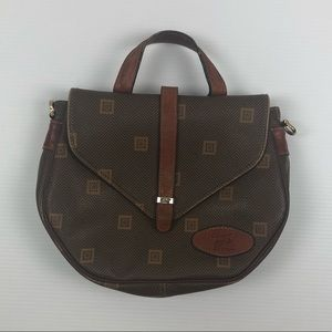 Leather Texier Small Saddle Brown Leather